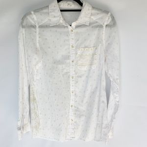 Maurices Button Down Cotten Shirt Size S